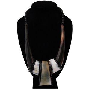 👑NAROBI BLACK BEADED NECKLACE 👑*NWT*